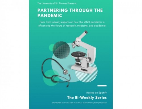 Partnering through the Pandemic Podcast flyer