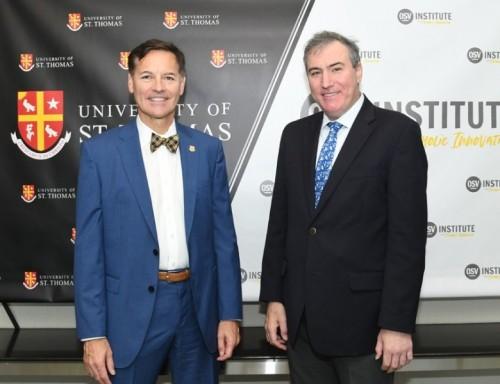 UST President Richard Ludwick and OSVI President Justin Shanks