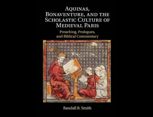 Dr. Randy's Smith New Book on Aquinas and Bonaventure