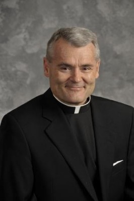 Headshot of Rev. George Smith, CSB and former General Superior of the Congregation of St. Basil.