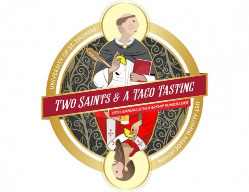 Two Saints & a Taco Tasting logo