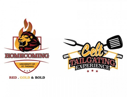 Homecoming and  Tailgate logos