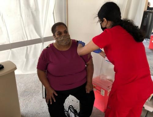 Receiving a COVID Vaccine