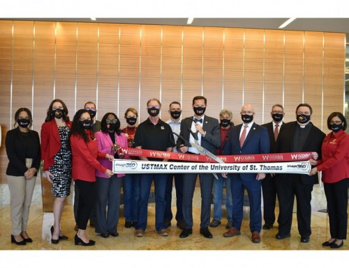 USTMAX ribbon-cutting at The Woodlands Area Chamber of Commerce