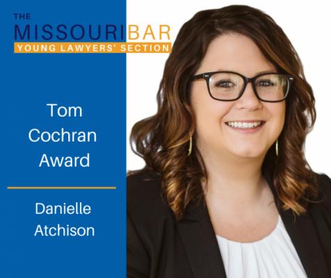 Tom Cochran Award Winner Danielle Atchison