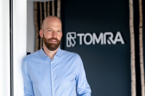 Felix Flemming, VP and Head of Digital at TOMRA Sorting