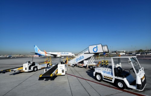 dnata successfully completes green turnaround of flydubai's aircraft at Dubai International (DXB)