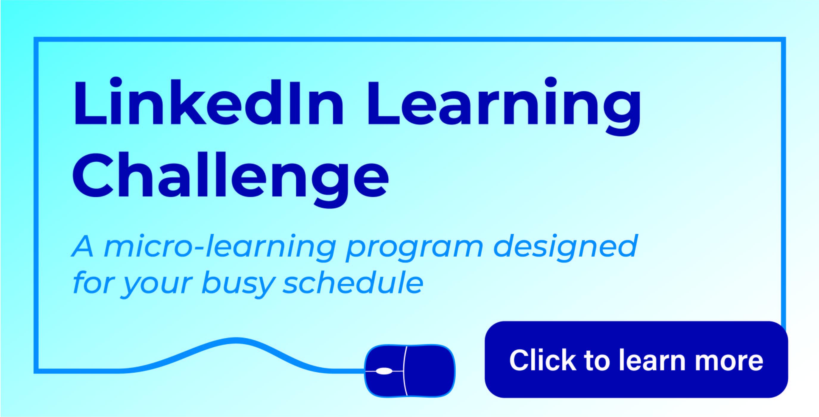 LinkedIn Learning Challenge
