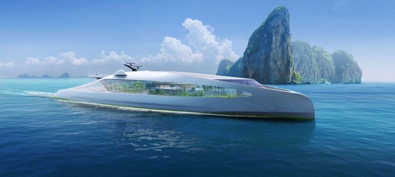 3Deluxe Launches the First Zero-Emission Super-Yacht at the Monaco Yacht Show-As NFT 1