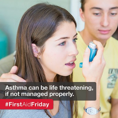 Asthma first aid tips