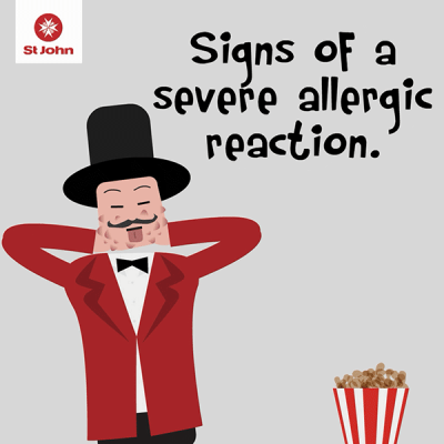 Severe allergic reaction