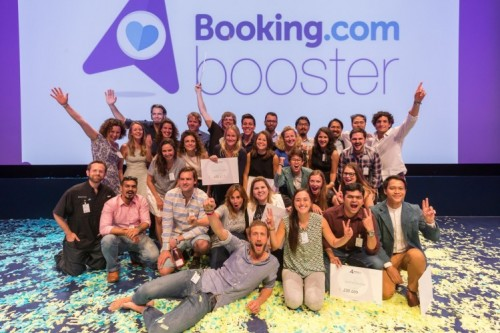 Booking com Doubles Support for Startups and Changemakers in